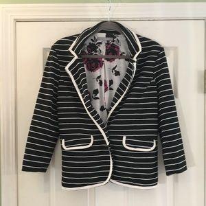 MY COLLECTION - Striped Blazer - Sz M